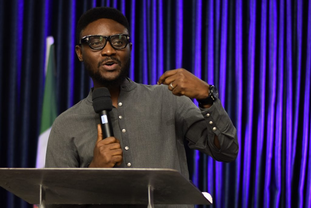 Frederick Adetiba, Lead Pastor at The Finishing Church teaching on Contending for Your Identity