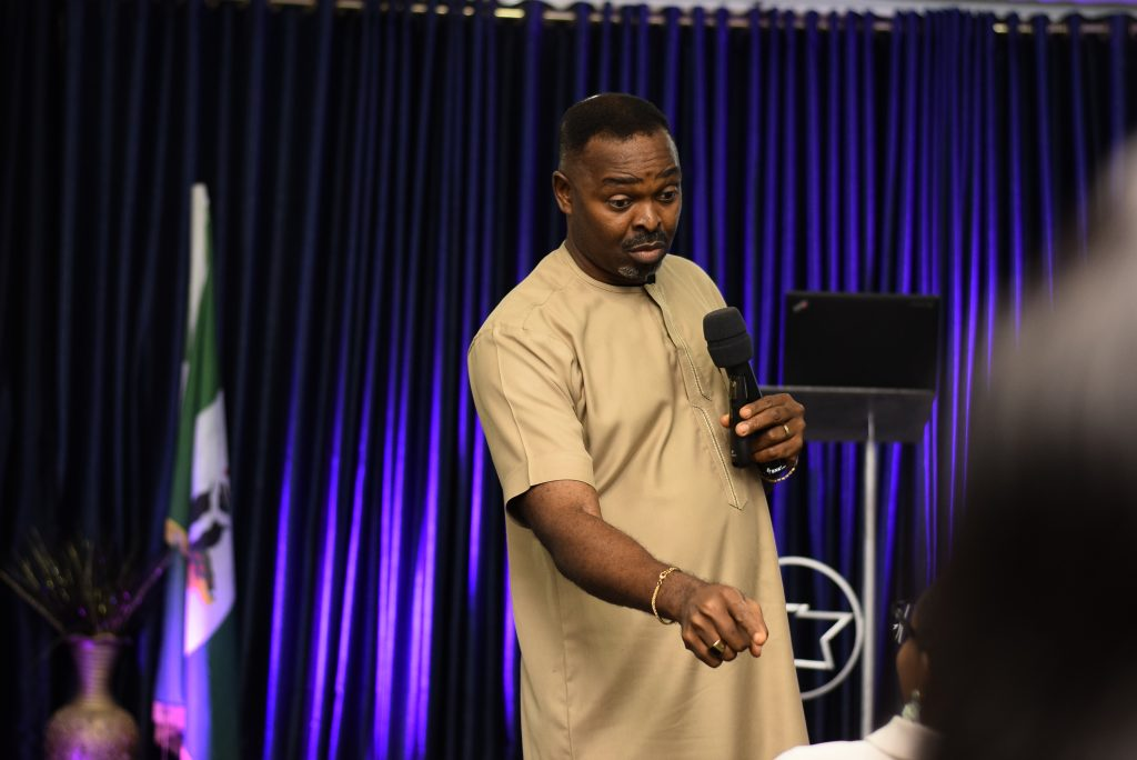 Prince Omola Godfrey teaching on The Present Truth at the Emerging Remnant Conference