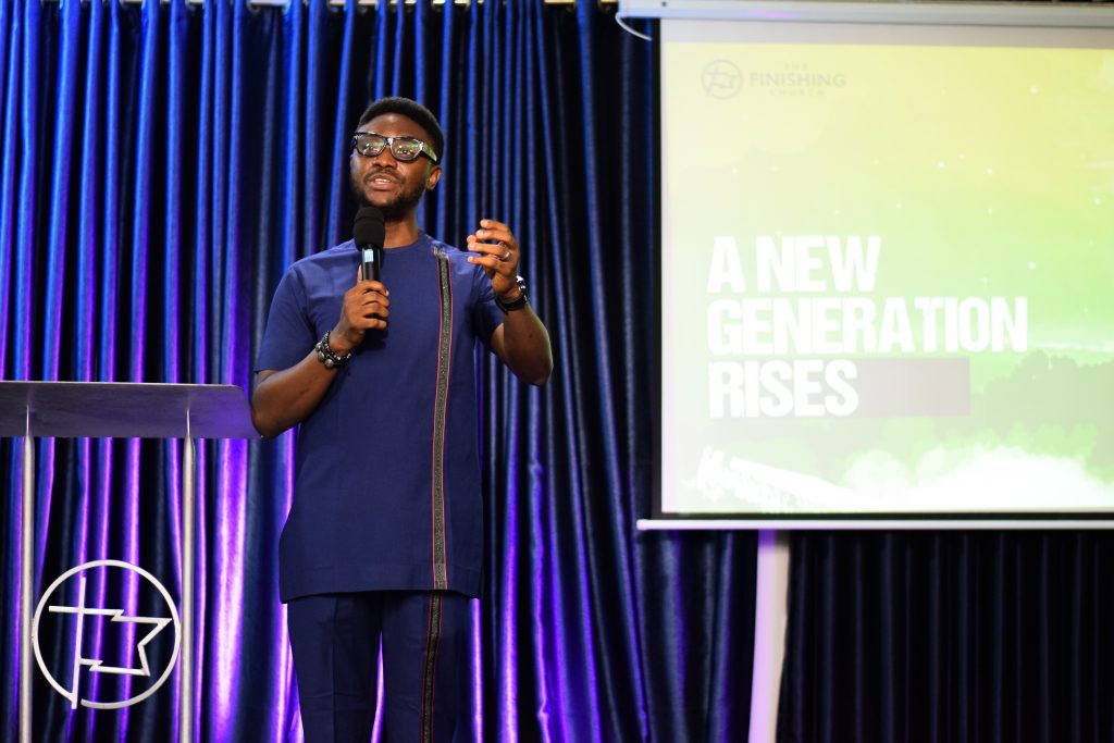Lead Pastor of The Finishing Church, Frederick Adetiba teaching on A New Generation Rises