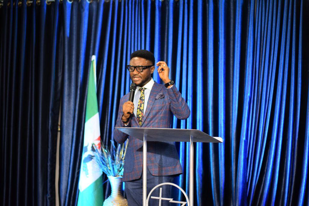 Lead Pastor of The Finishing Church, Frederick Adetiba teaching